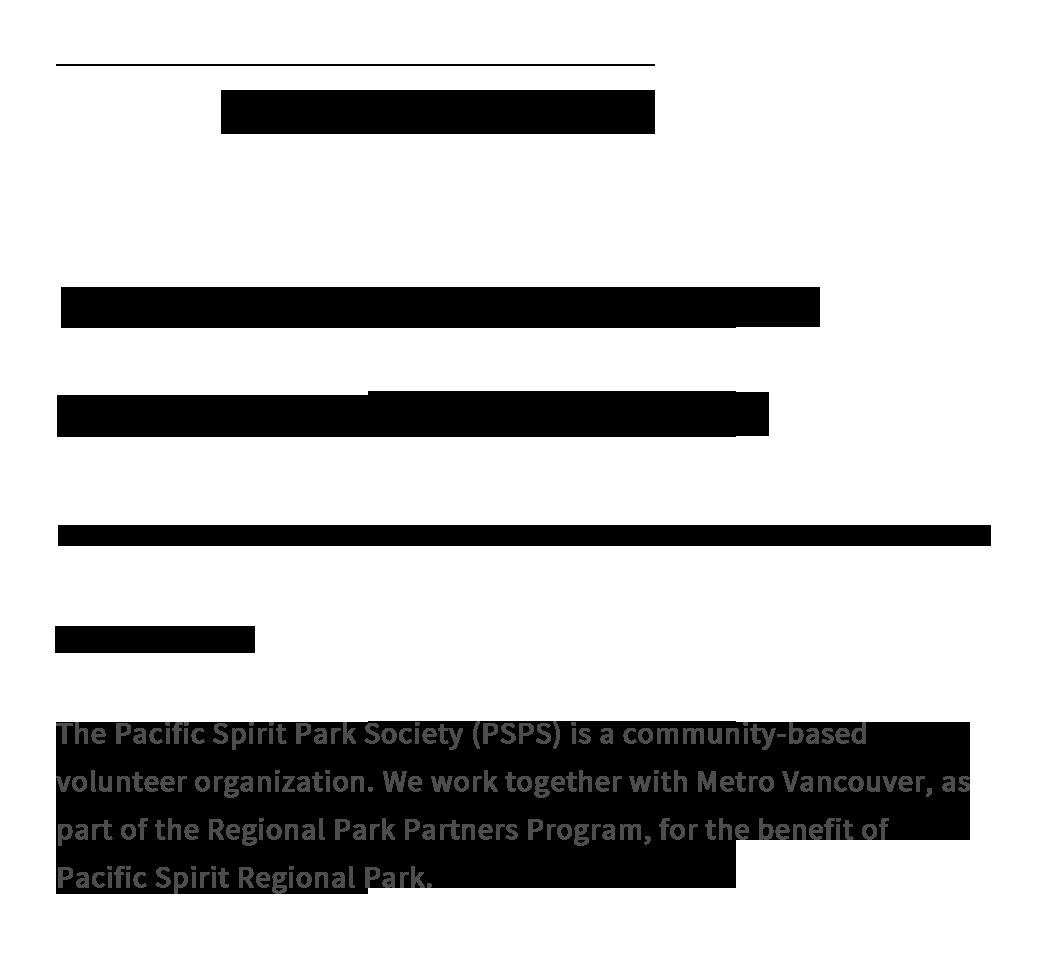 PSPS Site typography